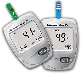 Анализатор крови на глюкозу, холестерин, мочевую кислоту: биохимический прибор Изи Тач