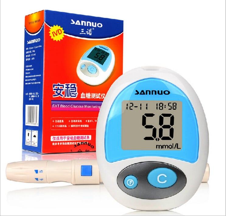 Sannuo глюкометр: китайский измеритель сахара в крови, инструкция по применению