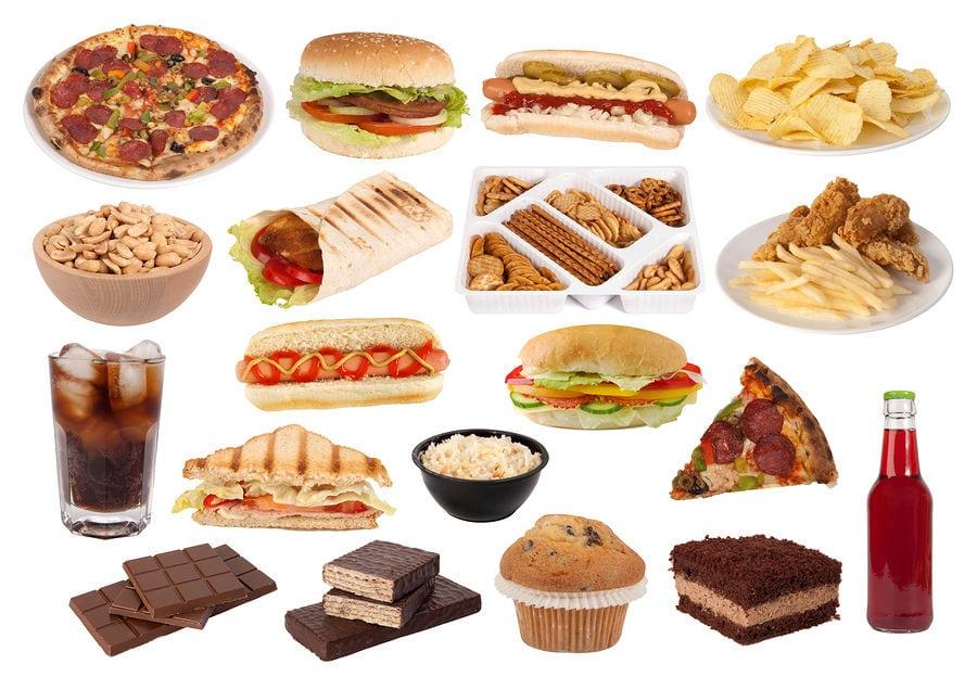 Опасные продукты питания.