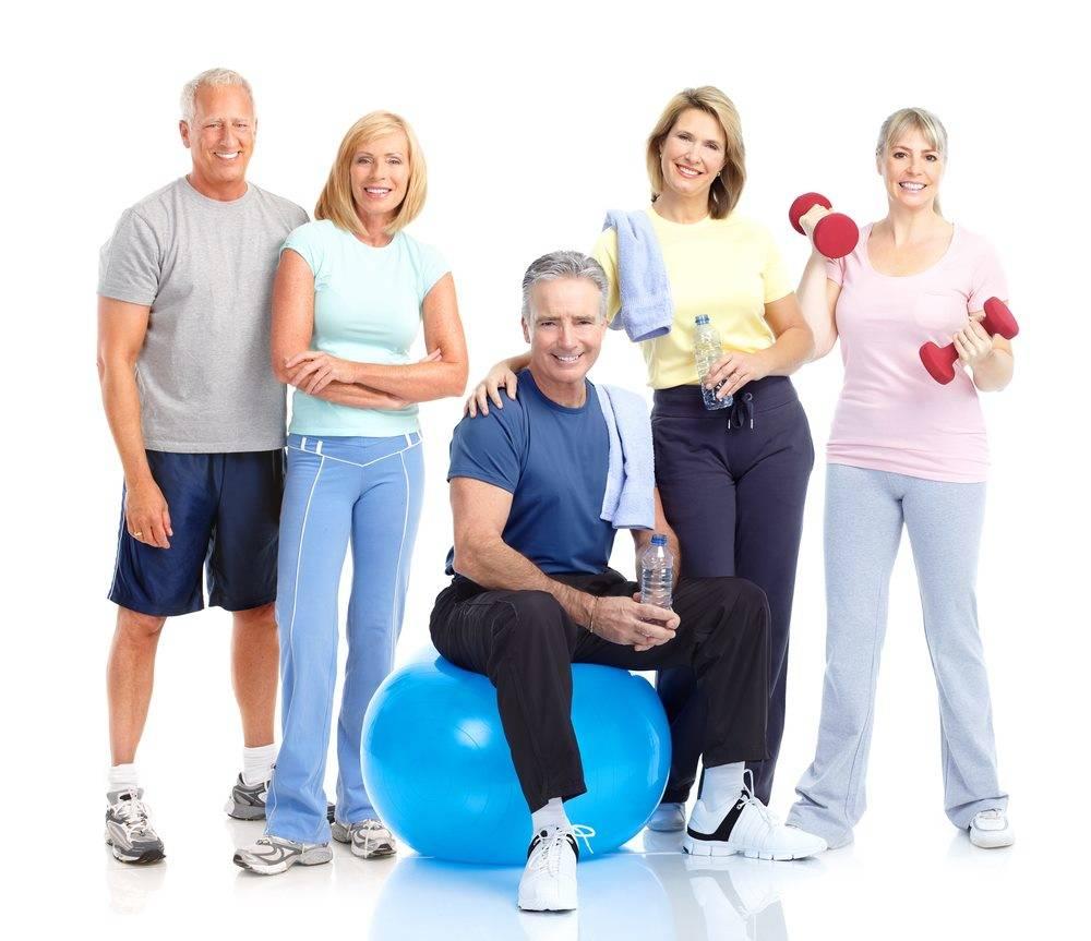 Физические нагрузки для группы людей, болеющих сахарным диабетом